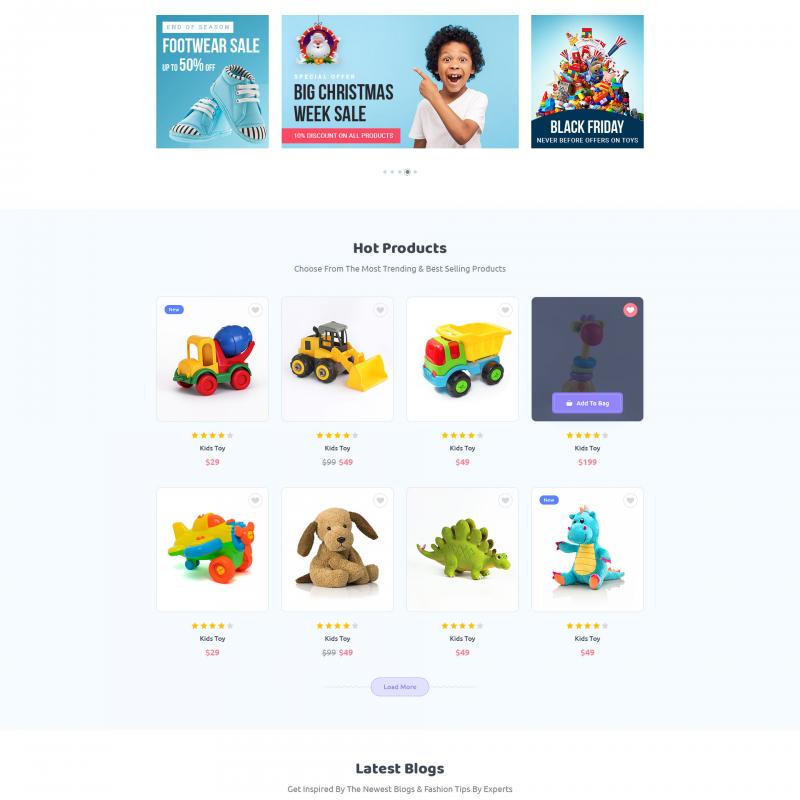 Premium Fashion Kids WordPress Theme